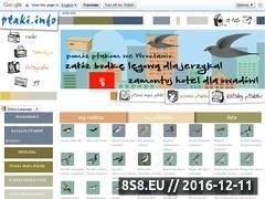 Miniaturka domeny www.ptaki.info