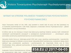 Miniaturka ptppd.pl (Organizacja psychoterapii)