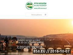 Miniaturka domeny pttkrzeszow.pl