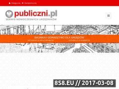 Miniaturka domeny www.publiczni.pl
