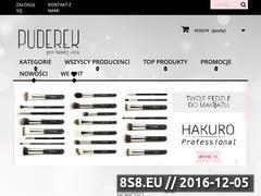 Miniaturka domeny puderek.com.pl