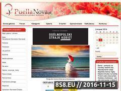 Miniaturka domeny www.puellanova.pl