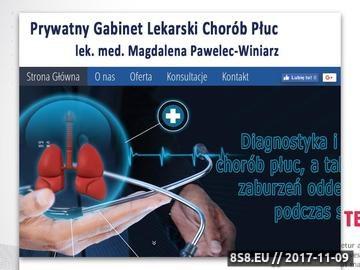 Zrzut strony Gabinet - leczenie bezdechu