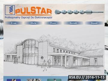 Zrzut strony PulStar Sklep Internetowy