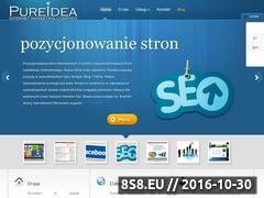 Miniaturka domeny www.pureidea.pl