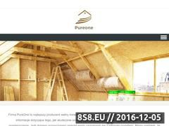 Miniaturka domeny www.pureone.pl