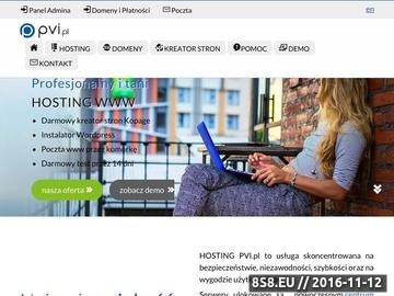 Zrzut strony Hosting WWW, domeny, kreator stron oraz pozycjonowanie
