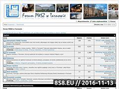 Miniaturka pwsz-tarnow.edu.pl (Forum studentów PWSZ Tarnów)