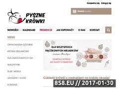 Miniaturka domeny pyszne-krowki.pl