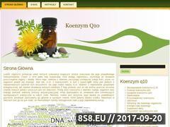 Miniaturka domeny q10-koenzym.pl