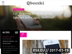 Miniaturka domeny qbeczki.pl