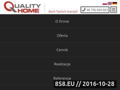Miniaturka domeny www.quality-home.pl