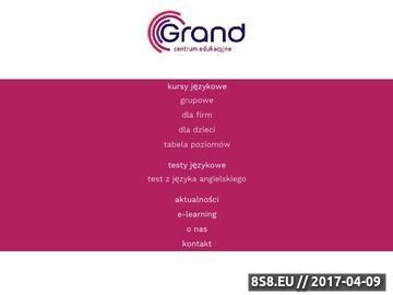 Zrzut strony Szkoły Językowe Toruń - Angielski Toruń