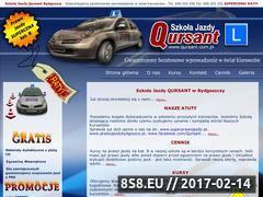 Miniaturka domeny www.qursant.com.pl