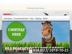 Miniaturka domeny www.rabbitoffice.pl