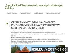 Miniaturka domeny www.rabka-zdroj.org