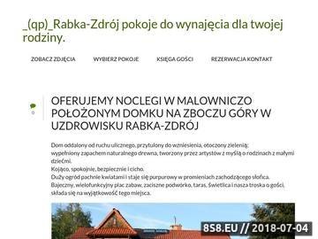Zrzut strony Rabka-zdrój_(qp)_Pokoje noclegi kwatery
