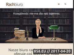 Miniaturka domeny www.rachbiuro.pl