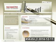 Miniaturka domeny www.rachmistrz.rzeszow.pl