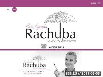 Zrzut strony Rachuba - kancelaria