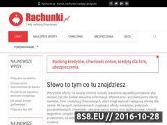 Miniaturka domeny rachunki.pl