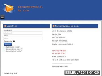 Zrzut strony Biuro Rachunkowe Ireneusz Michalak