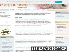 Miniaturka domeny www.rachunkowo.com