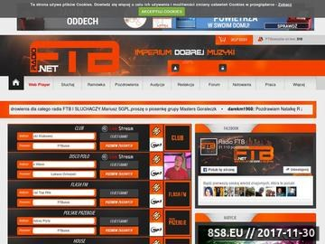 Zrzut strony Radio Internetowe - Radio FTB - Imperium Dobrej Muzyki