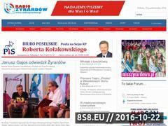 Miniaturka www.radiozyrardow.pl (Radio Żyrardów)