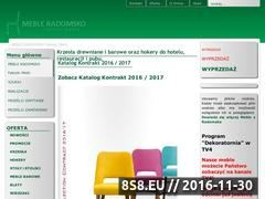 Miniaturka domeny www.radomskomeble.pl