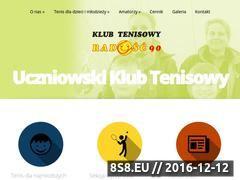 Miniaturka www.radosc90.pl (Tenis Warszawa )