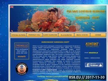 Zrzut strony Nurkowanie Hurghada Egipt