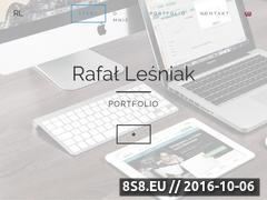 Miniaturka Projektowanie i tworzenie stron internetowych (rafallesniak.com)