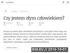 Miniaturka rafalruba.pl (Blog osobisty o zainteresowaniach i pasjach)