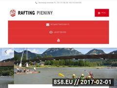 Miniaturka www.raftingpieniny.pl (Rafting Dunajec)