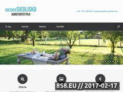 Miniaturka domeny www.rajskiesiedlisko.pl