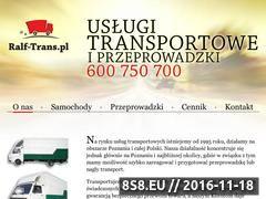 Miniaturka domeny ralftrans.pl