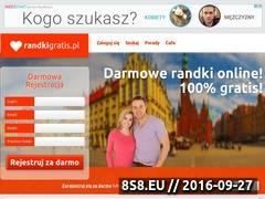 Miniaturka domeny randkigratis.pl