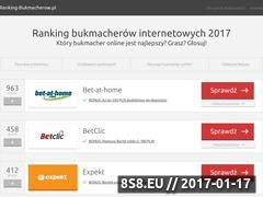 Miniaturka domeny ranking-bukmacherow.pl