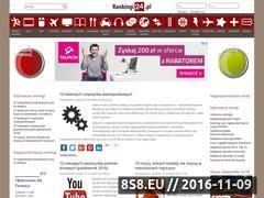Miniaturka rankingi24.pl (Strona z rankingami i ciekawostkami)