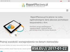 Miniaturka domeny raportplacowy.pl