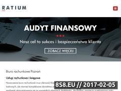 Miniaturka domeny ratium.pl