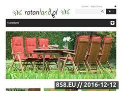 Miniaturka domeny rattanland.pl