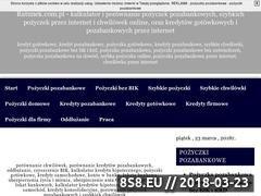 Miniaturka ratunek.com.pl (Pożyczki pozabankowe online)