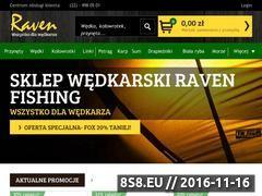 Miniaturka www.raven-fishing.pl (Sklep wędkarski online)