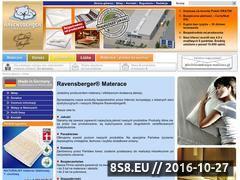 Miniaturka domeny ravensberger-materace.pl
