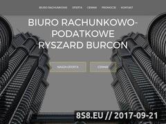 Miniaturka www.rburcon.pl (Obsługa księgowo-podatkowa małych i śr. firm)