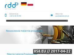 Miniaturka rdd.com.pl (Malarnia proszkowa)