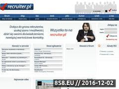 Miniaturka domeny www.recruiter.pl
