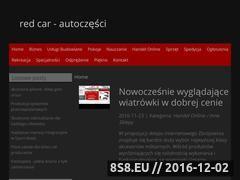 Miniaturka domeny www.redcarautoczesci.pl